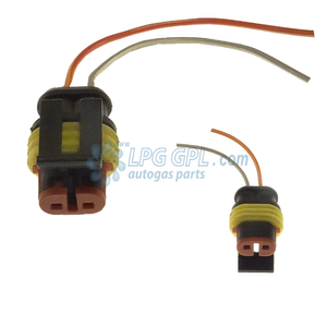 splash proof plug, twing wire plug