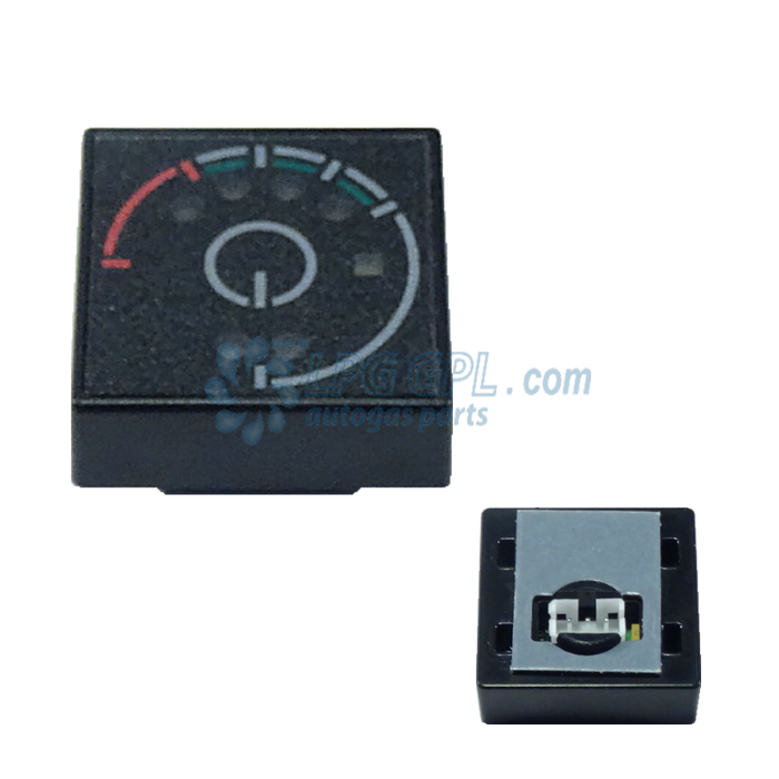 KME Nevo Switch Panel Fuel Gauge Level Indicator