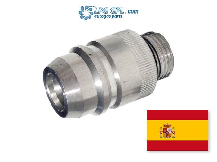 UK LPG Bayonet Filler W21.8 To Euro Nozzle Spain Autogas Adaptor