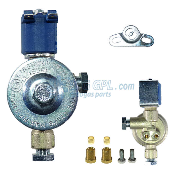 Valtek LPG Shut OFF Valve 8mm IN 8mm Out With Filter 12V 11W