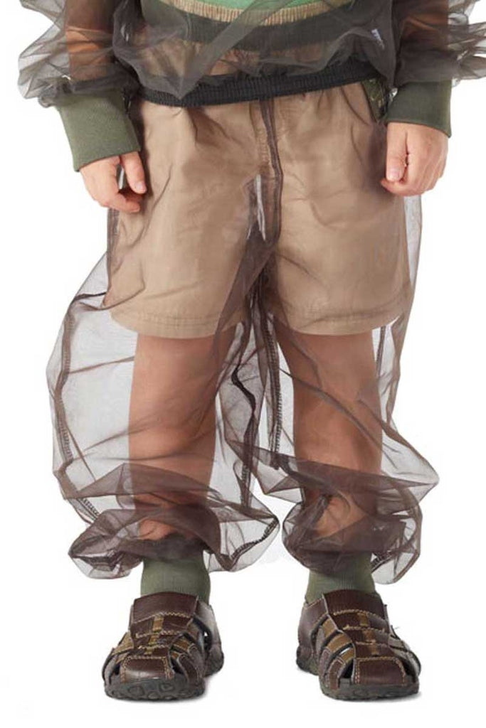 Bug Baffler insect protective pants for children.
