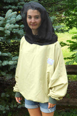 Yellow UV protective shirt