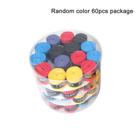 60 Pcs Original Handle Anti-Slip Sticky Strong Viscous Hand Gel Bat Grip Tape Baseball For Badminton Racket