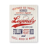 Sandlot Quote Print Baseball Poster Inspirational Wall Art Canvas Painting Picture Kids Boys Gifts Home Room Wall Decoration
