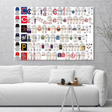 Major League Baseball Teams Wall Art and Decor - All Major League Team Poster