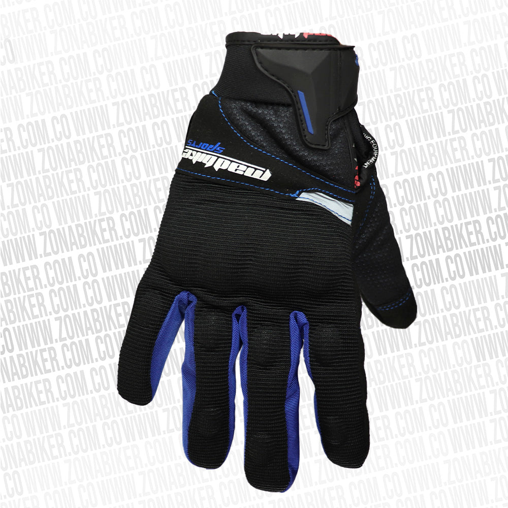 GUANTES MADBIKE AZUL IMPERMEABLES