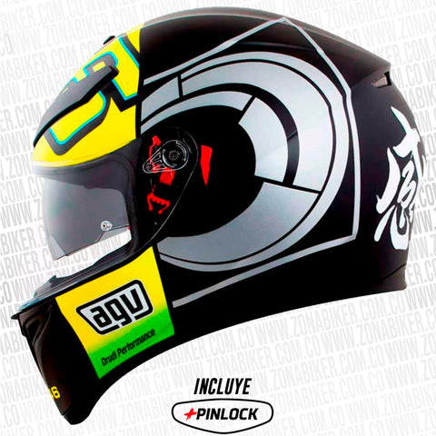 CASCO AGV K3 SV WINTER TEST 2012