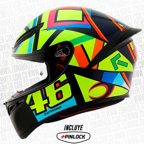 CASCO AGV K1 TOP SOLELUNA 2016-2017