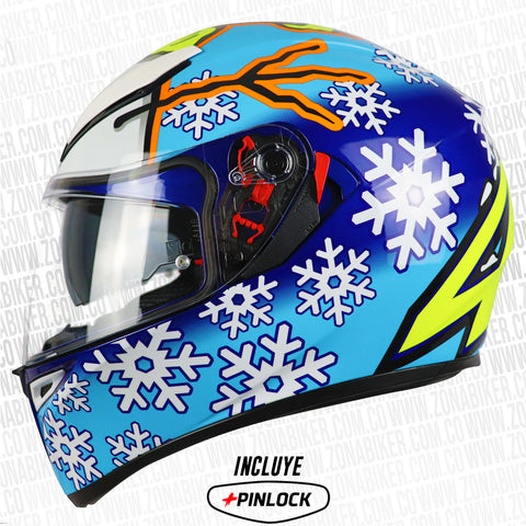 CASCO AGV K3 SV WINTER TEST 2016