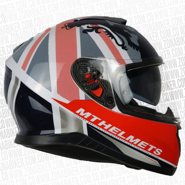 CASCO MT THUNDER 3SV KINGDOM BLANCO