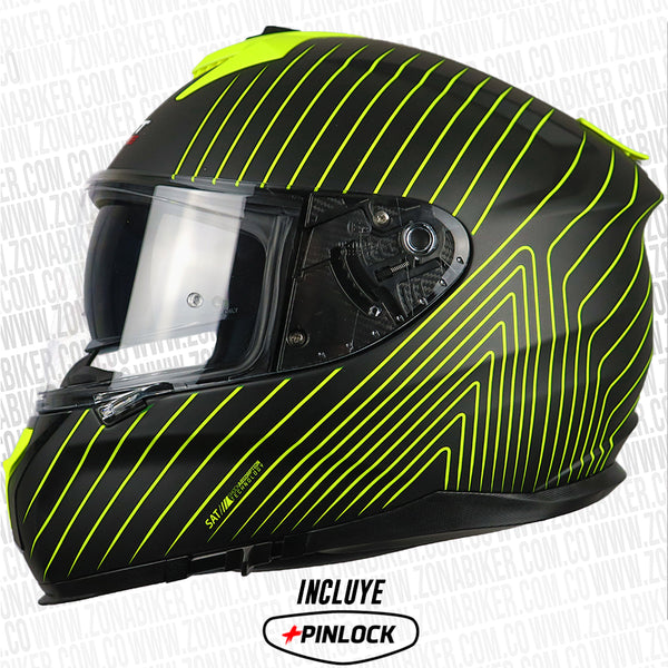 CASCO SHAFT PRO 610DV VERSUS NEGRO AMARILLO