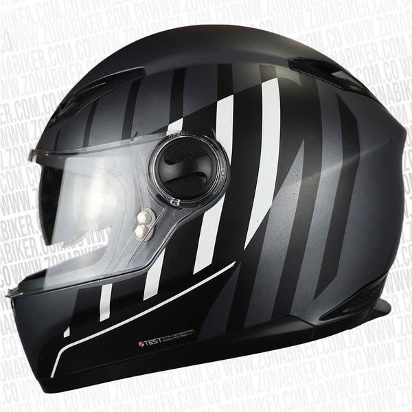 CASCO ICH 501 DOT AURIX GM BLANCO