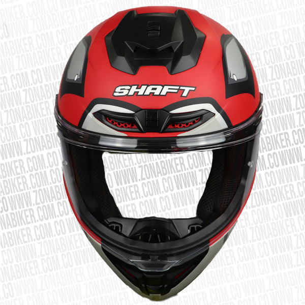 CASCO SHAFT 542GT ZEVIL ROJO