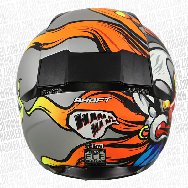 CASCO SHAFT 571 HAHA GRIS AZUL