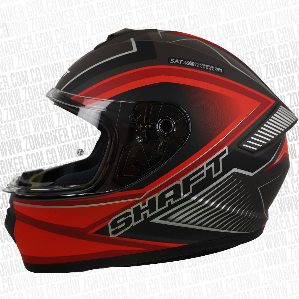 CASCO SHAFT 589 NEPTO GRIS ROJO