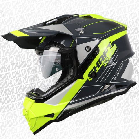 CASCO SHAFT PRO MX-370 TREPID AMARILLO