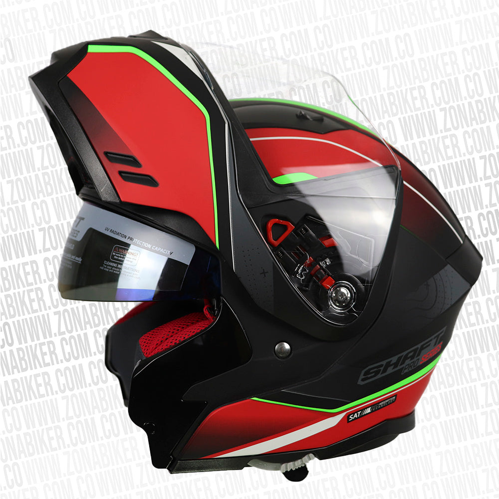 CASCO SHAFT PRO 3880DV DRIFT ROJO