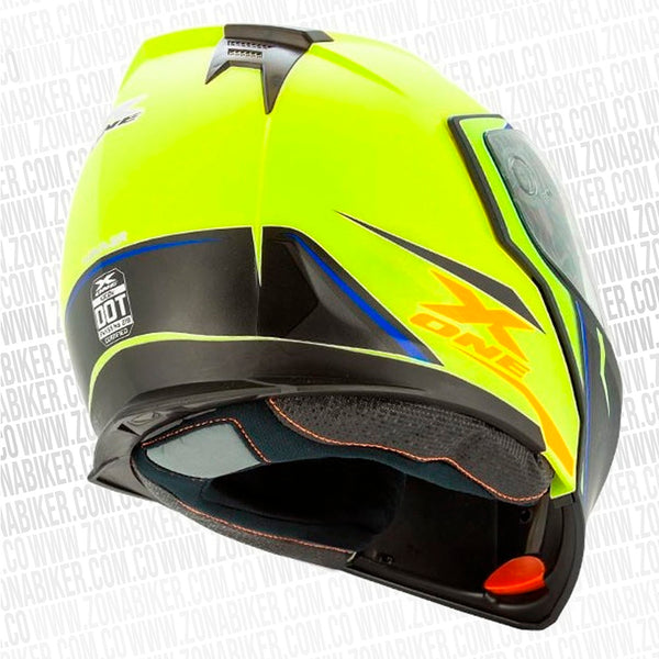 CASCO X-ONE X-30 HANNER GRIS AMARILLO