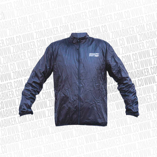 CHAQUETA IMPERMEABLE SHAFT 566 NEGRO