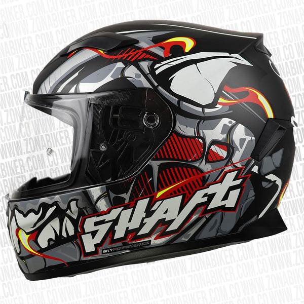 CASCO SHAFT 591 ZETAZ N M ROJO