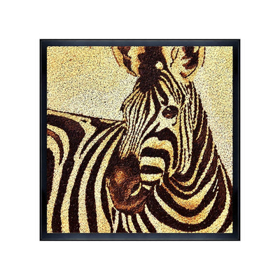 zebra animal paintings black and white from maverick deco rice painting and art gallery