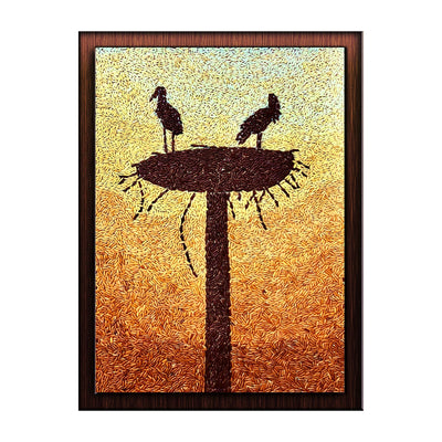 Lovely Nesting Birds - Maverick Deco
