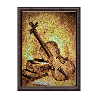 violin oil painting from maverick deco art collections in Poland
