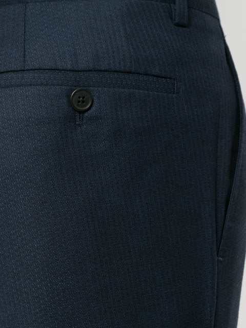Navy Slim Fit Tailored Trousers