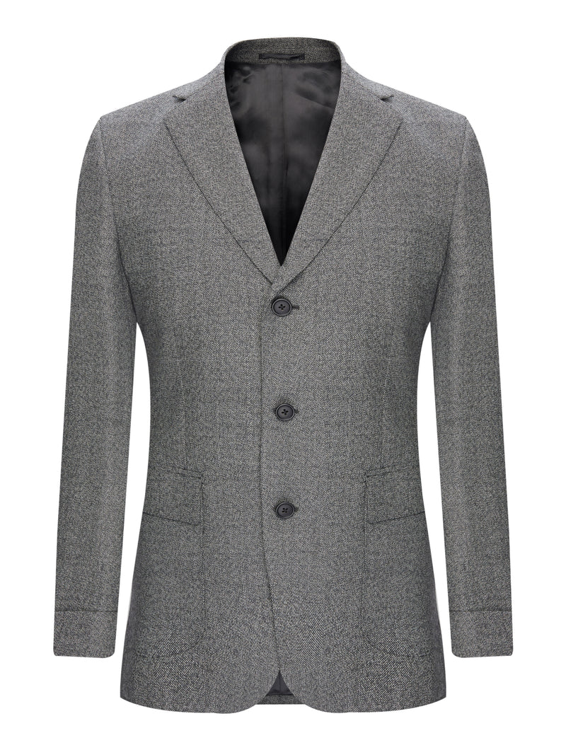 Charcoal Wool Suit