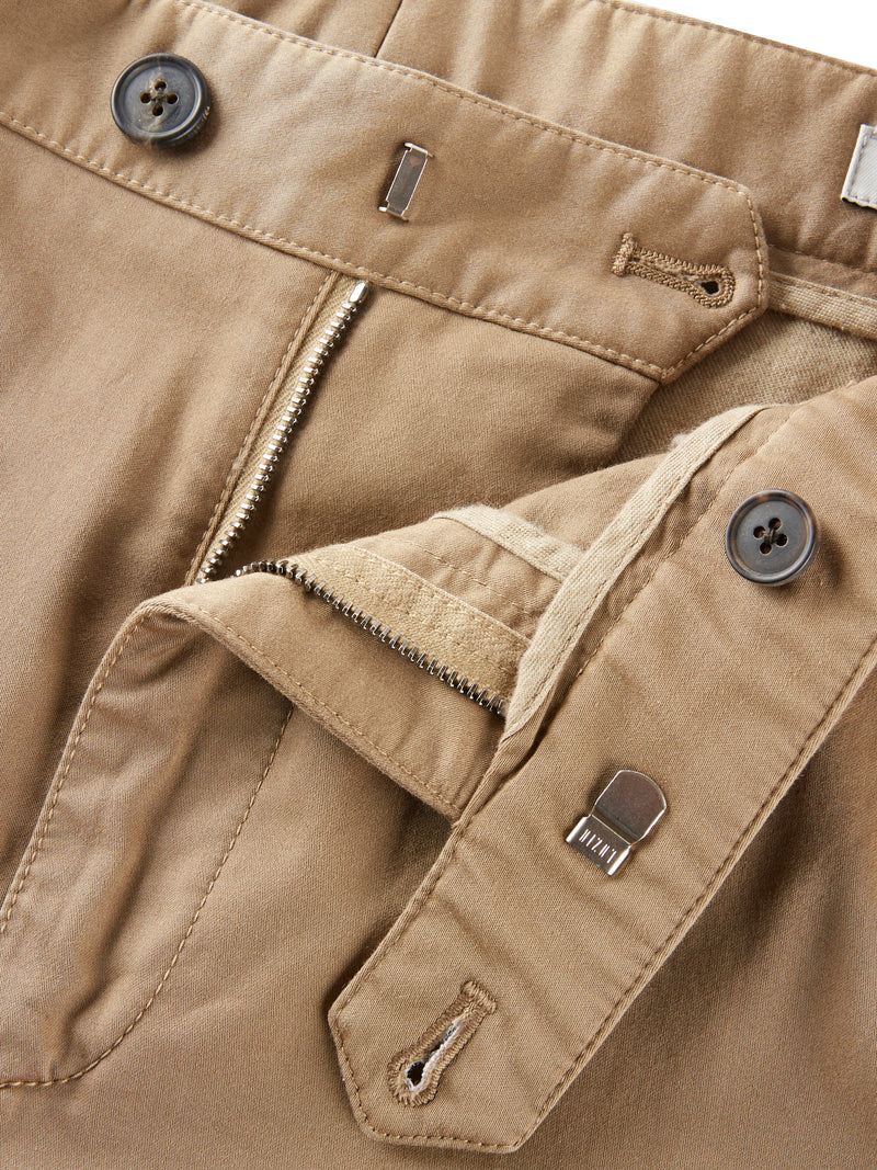 High-Rise Straight Trousers