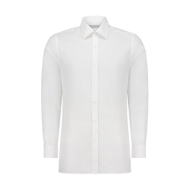 White Fine Tailored Fit Shirt