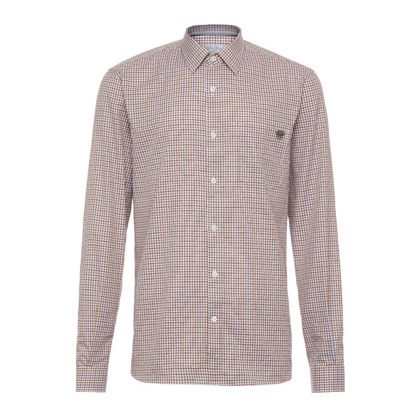 1771 Crown Logo Check Casual Shirt