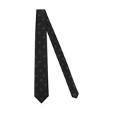 Black 1771 Crown Jacquard Silk Tie