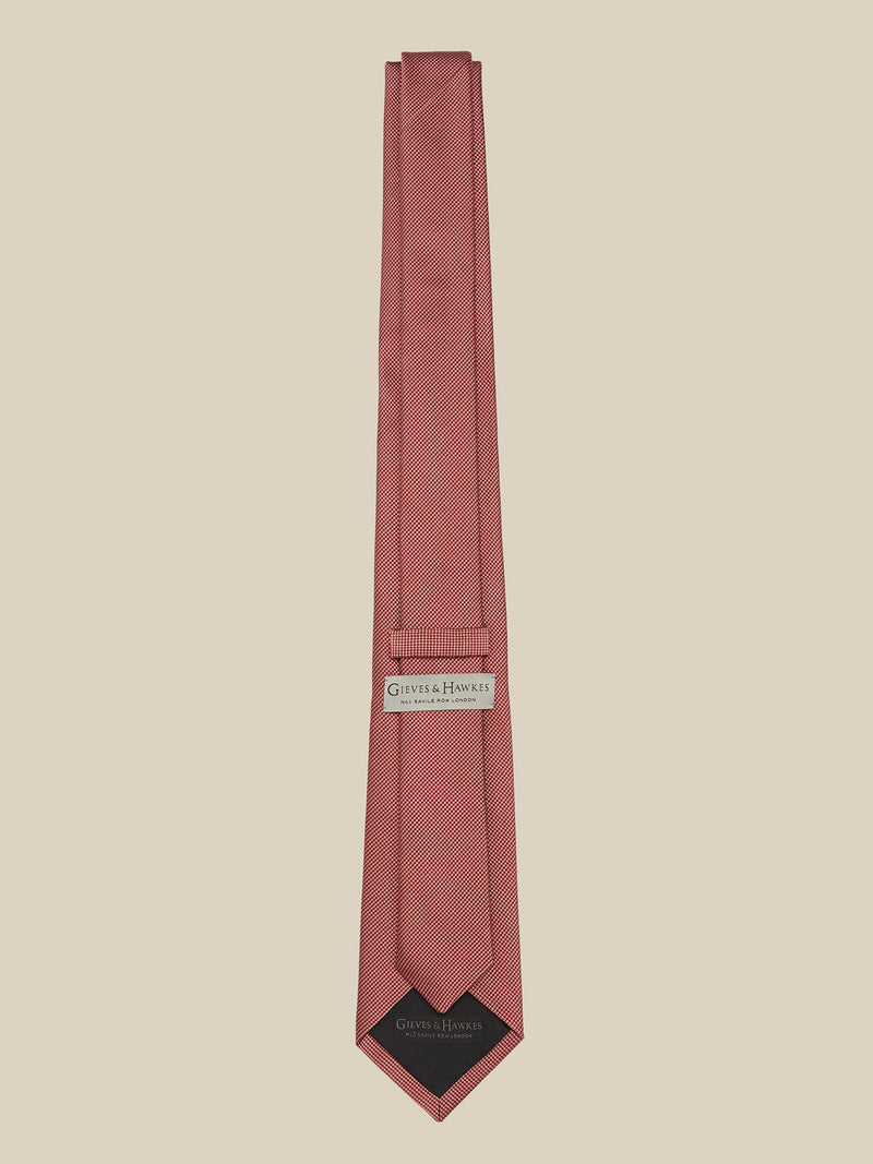 Silk And Cotton Mogador Tie