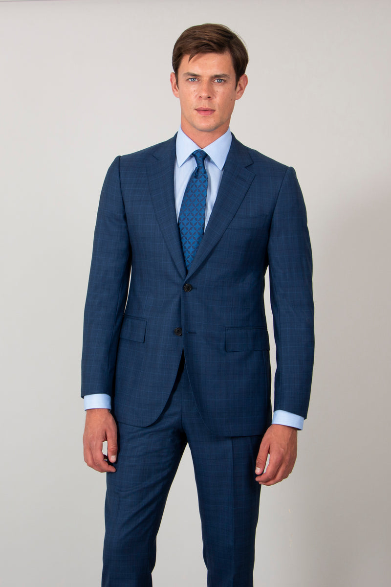 Royal-blue-superfine-Prince-of-Wales-check-wool-suit