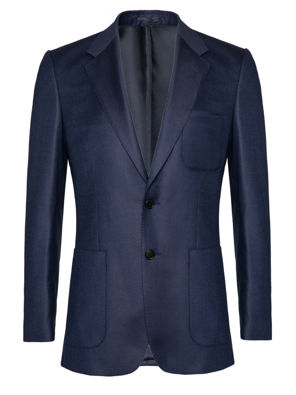 Super150 Wool Deep Blue Suit