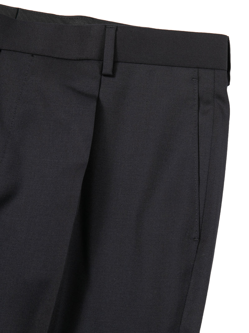 Virgin Wool Woven Dress Pants