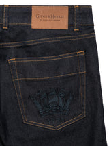 1771 Crown Stitched Raw Denim Jeans
