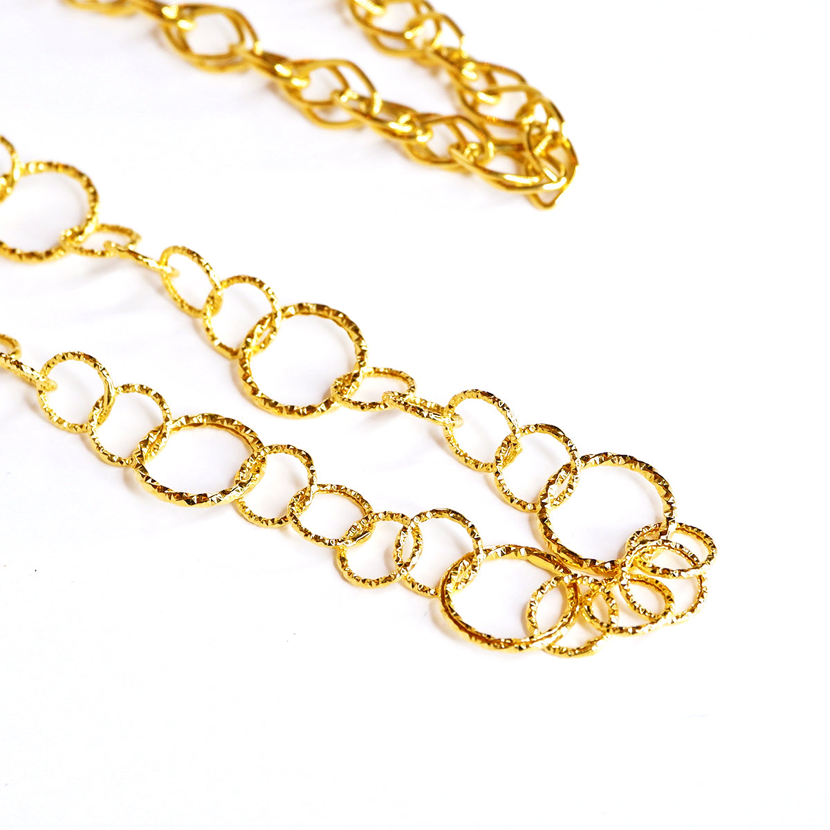 Round Long Chain Necklace
