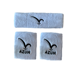 Azun Sweatbands - White