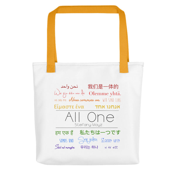 """All One"" Tote bag"