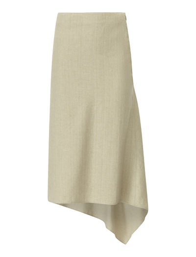 Dillion Stretch Linen Skirt