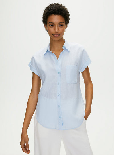 ADARA BUTTON-UP