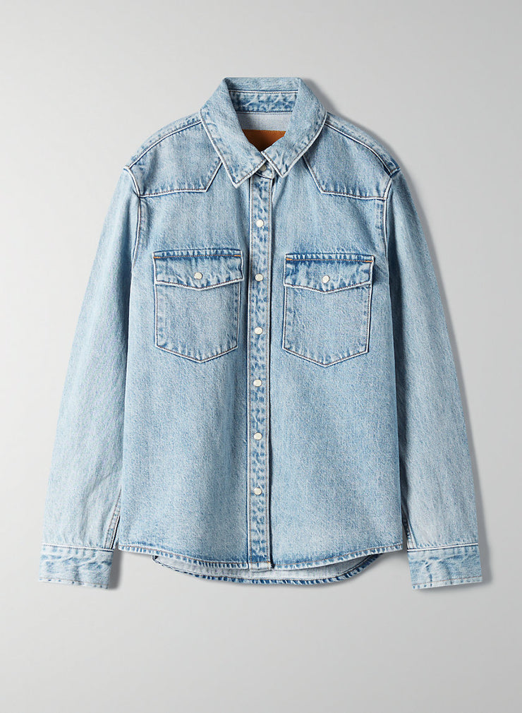 THE PATTI SHIRT JACKET