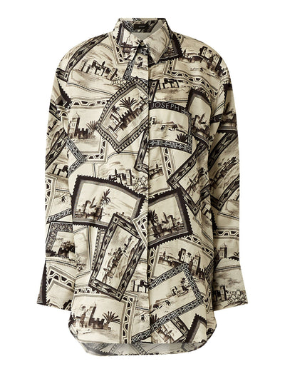 Dawson Big Stamp Print Blouse