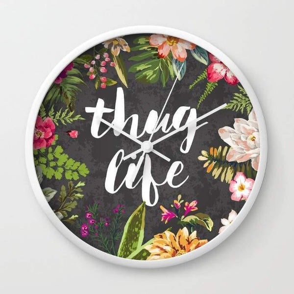 Thug Life Wall clock wall clock decor