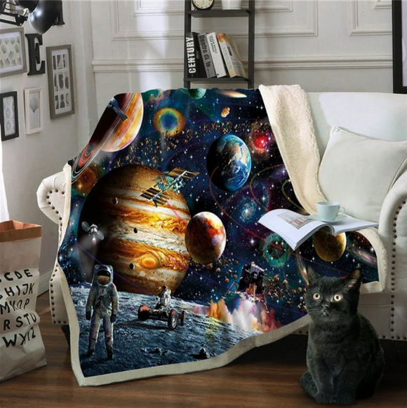 Double Thicker Outer Space Blanket - Virginia Lee