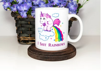 Witty Unicorn I Shit Rainbows