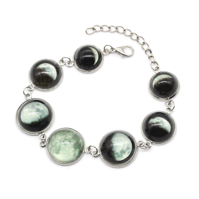 Gem Moon Luminous Bracelet