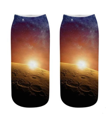 Cosmic stars socks